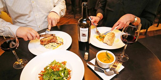 $75 -- Dinner at Vita for 2 w/Bottle of Wine, Reg. $116