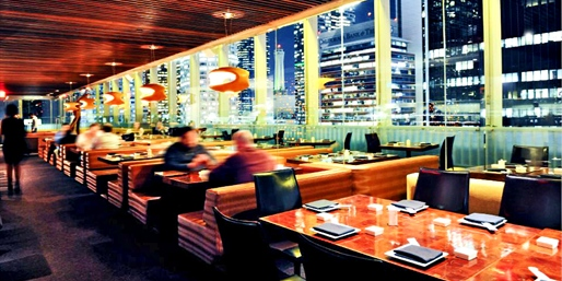 $39 -- Japanese Dinner w/Striking 21st-Floor Views, Reg. $70