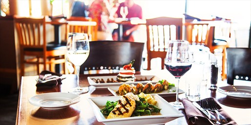 $19 -- Cove: Italian Lunch or Dinner w/Wine for 2, 50% Off