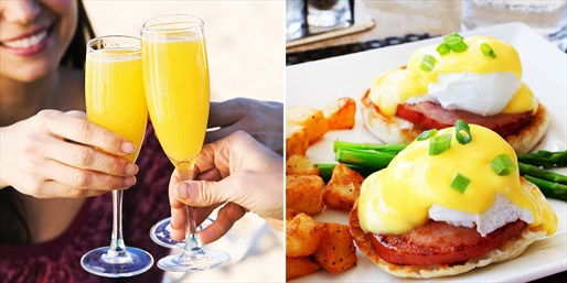 $25 -- Prego: Weekend Brunch for 2 w/Mimosas, Reg. $51
