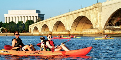 $11 -- Kayak the Potomac: Rentals for 2, Reg. $20