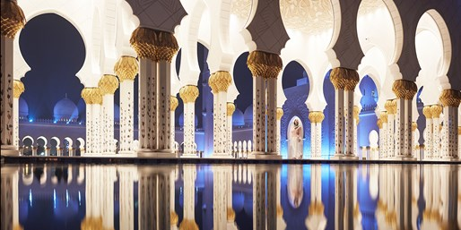 8-Night Abu Dhabi & Dubai w/NYC Air, Save $200, From New York City