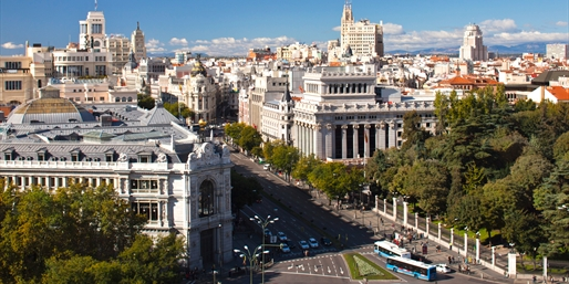 £139pp & up -- Madrid City-Break Sale inc Flights, Save 45%