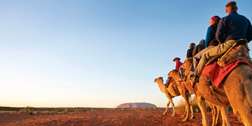 Ayers Rock 3-Night Stay w/Sunset Tour & Transfers, From $449