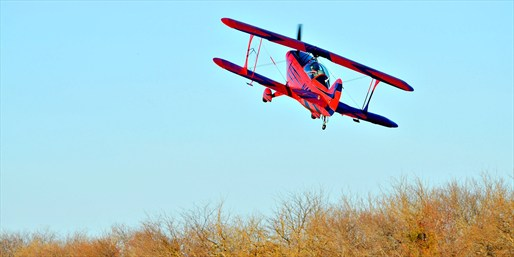 $175 -- Aerobatic Plane Ride w/Loops & Rolls, Reg. $400