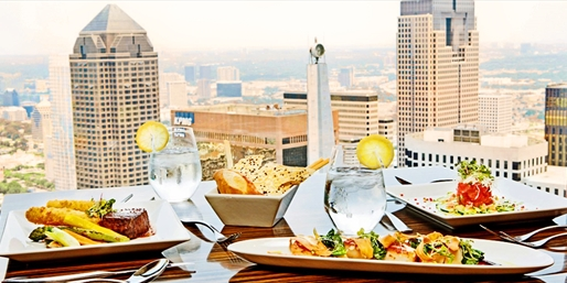 $79 -- Members-Only Tower Club: 48th-Floor Dinner for 2