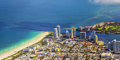 $99 -- Fly a Plane over Biscayne Bay & South Beach, Save 50%