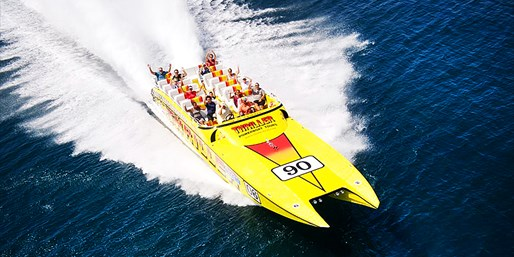 $25 -- High-Speed Boat Thrill Ride around Miami, Reg. $36