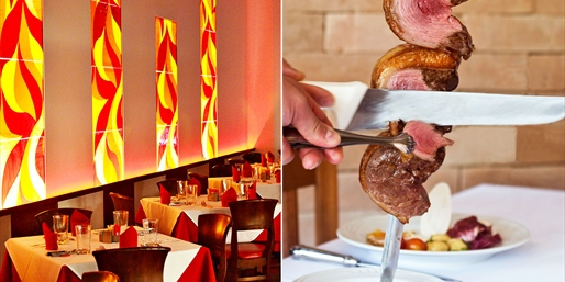 $45 -- Unlimited Brazilian Steakhouse Dinner for 2, Reg. $80