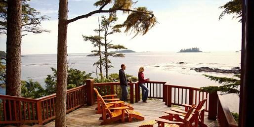 $89 -- Tofino Couples Oceanfront Stay w/Breakfast, Reg. $180