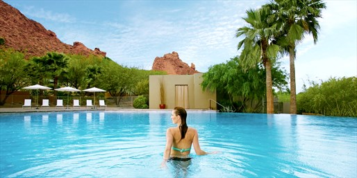 $99 -- Sanctuary on Camelback: Luxe Spa & Pool Day, Half Off