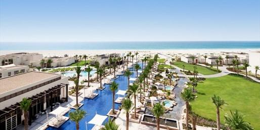 888 € -- Luxusurlaub im Park Hyatt Abu Dhabi mit Meerblick
