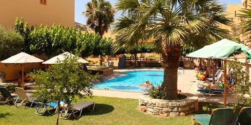 355 € -- 1 Woche Kreta mit Halbpension & Flug, -250 €