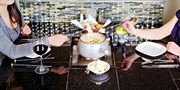 $59 -- La Fondue: 4-Course Dinner for 2 w/Wine, Reg. $110
