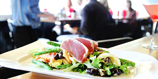 $43 -- Stella's Fish Cafe: Lunch for 2 w/Wine, 50% Off