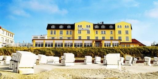 129 € -- Wangerooge: Nordsee-Tage mit Menü & Wellness, -37%