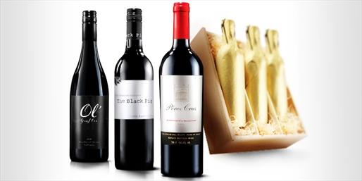 £33 -- 3-Bottle Gift Pack of Wine inc Presentation Box