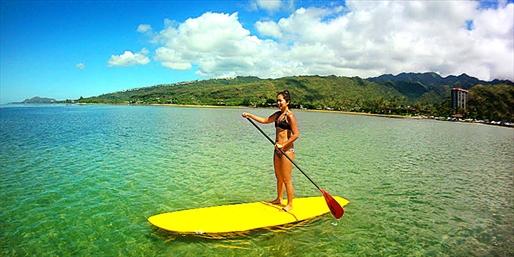 $34 -- Maunalua Bay: Paddleboard Lesson, Reg. $69