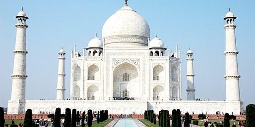 ¥44,500 -- 関西発 インド5日間ツアー 3都市8つの世界遺産観光&全食事付