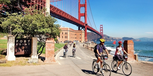 $55 -- Golden Gate Bridge & Sausalito Bike Tour for 2