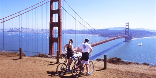Spend the Day Biking San Francisco: 2 Rentals for Half Off