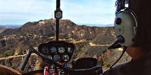 $99 -- Private Flight Tour over LA w/Bubbly, Reg. $229