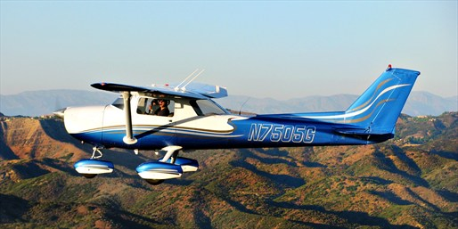 $99 -- Scenic Flight Tour w/Bubbly or Flight Lessons