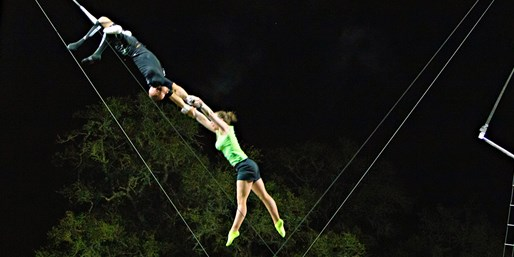 Introductory Flying-Trapeze Lessons up to 50% Off