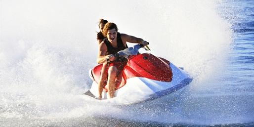 $55 -- Wave Runner Rental around Tampa Bay, Save 50%