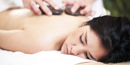 $69 -- Hot Stone Massage w/Upgrades, 3 Locations, Reg. $160