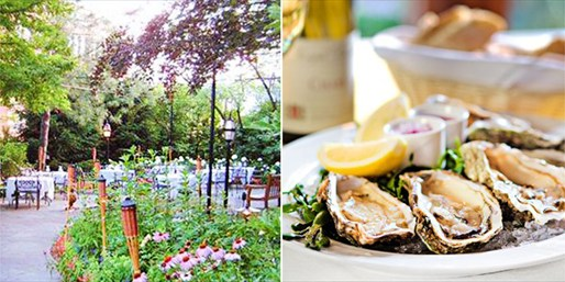 $35 -- The Whitney: Alfresco Oysters & Wine for 2, Reg. $61