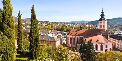 89 € -- Suite-Tage in Baden-Baden mit Wein, 45% sparen