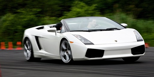 $125 -- Drive a Lamborghini on a Private Course, Reg. $249