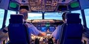 55 € -- München: Pilotentraining im Flugsimulator, -50%