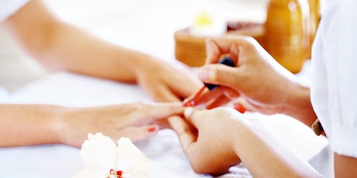 $25 -- Lakeview & North Center: Mani/Pedi Packages, Save 40%