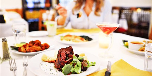 $65 -- Brazilian Steak Dinner for 2 w/Wine & Music, 55% Off