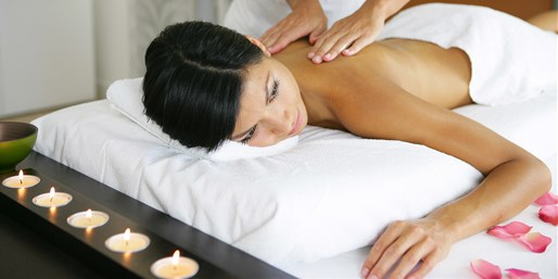 $99 -- Montrose: Luxe Massage or Facial Package w/Wine