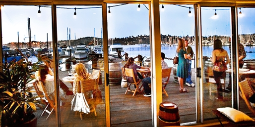 $25 -- Waterfront Wine & App for 2 in Sausalito, Reg. $53