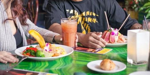 $37 -- Kahunaville: Tropical Dinner for 2, Half Off