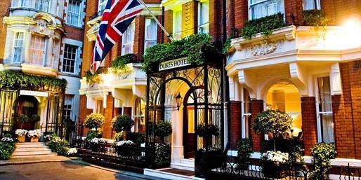 £210 -- Award-Winning Mayfair Stay w/Breakfast, 31% Off