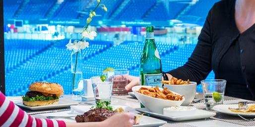 $49 -- Rogers Centre: Dinner for 2 w/Stadium Views, Half Off