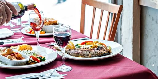 $25 -- Danforth: 'Best Greek' Dinner for 2, Half Off