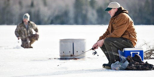 $79 -- Private Ice Fishing Experience for up to 8, Reg. $160