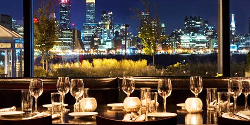 $45 -- Italian & Wine for 2 w/Striking City Views, Reg. $98