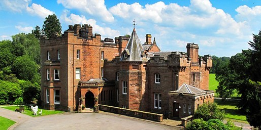 £69 -- Dumfries: 19th-Century Hotel Stay inc Meals, Was £132