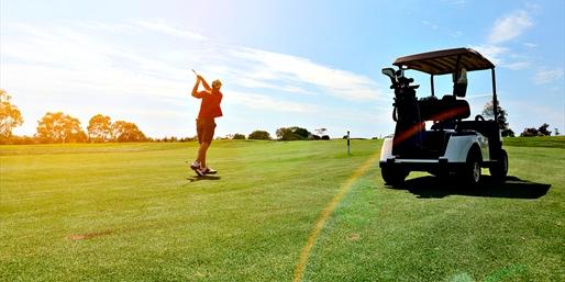 $29 -- Shadow Lakes & Deer Ridge Golf w/Cart, 60% Off