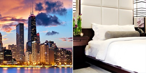 $109 -- Suite at Luxe Chicago Boutique Hotel w/Cocktails