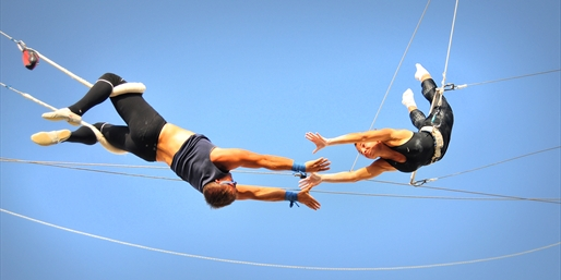 $39 -- Trapeze Class at Santa Monica Pier, Reg. $87