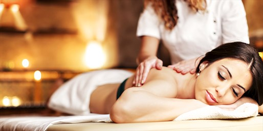 $49 & up -- Massage w/Pedi or Couples Massage, up to $90 Off