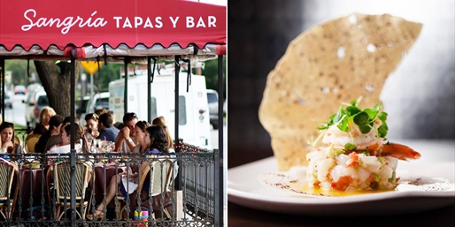 $25 -- Sangria: 'Best Tapas' Dinner in Dallas, Save 50%